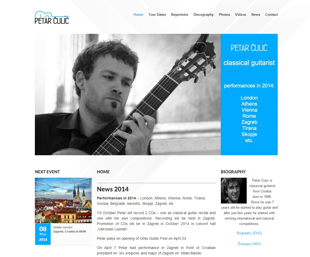 Petar Culic - Official site